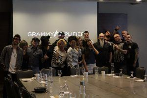 Top 10 finalists for the Grammy Amplifier contest.